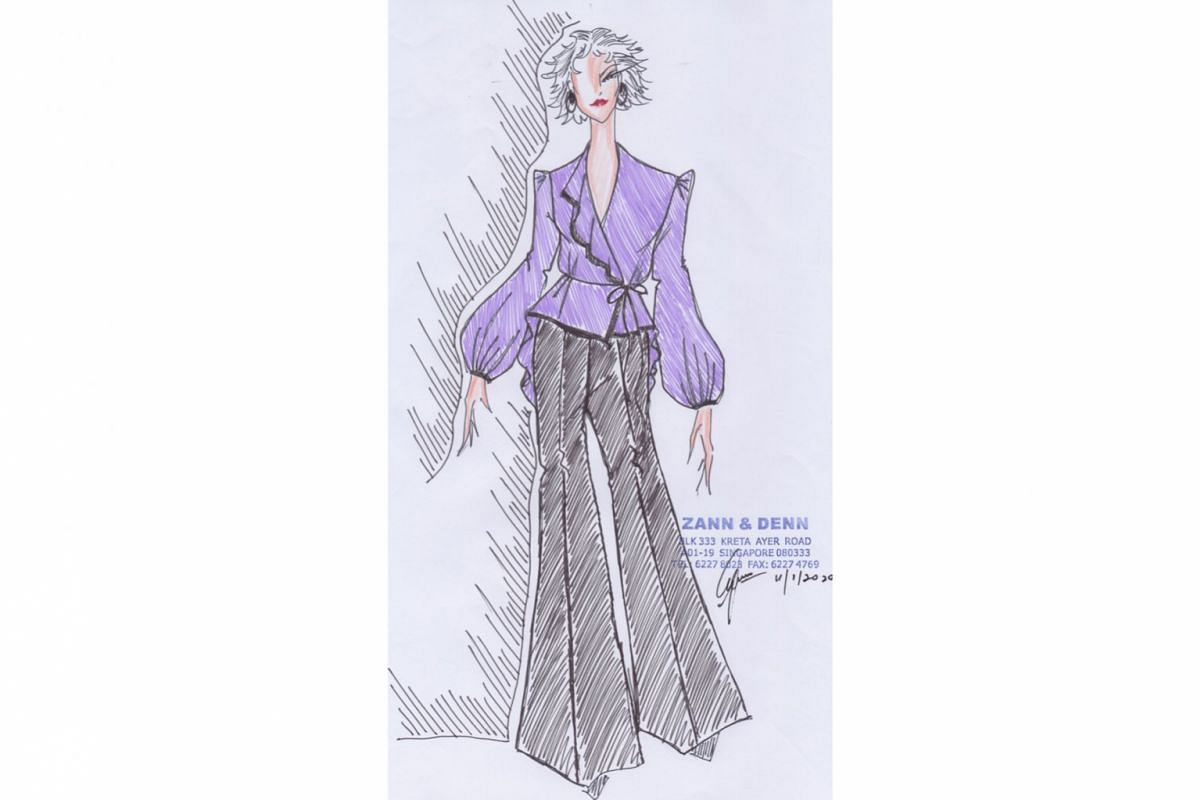 Pairing a fitted top with palazzo pants addresses lower section shortcomings such as unflattering legs or to hide varicose veins. Palazzos look good in a variety of fabrics, from stretch cotton for sharp office wear to breezy chiffon for casual weeke