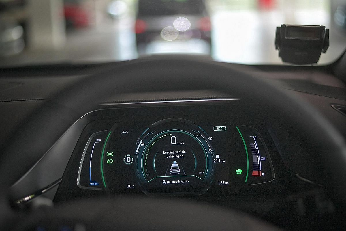 """New features include a radar that can detect the front vehicle moving off and, if the car remains stationary, the virtual cockpit flashes a message that says """"leading vehicle is driving on"""", along with a gentle chime."""