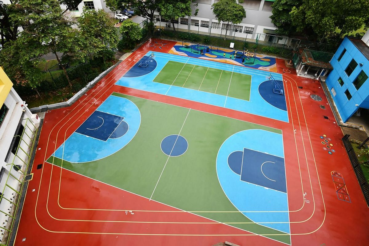 Pupils at play at Clementi Primary School on Jan 21, 2020. The Ministry of Education will look at dropping selection trials for co-curricular activities by starting a pilot study with several primary schools. Many feel that this is an encouraging mov