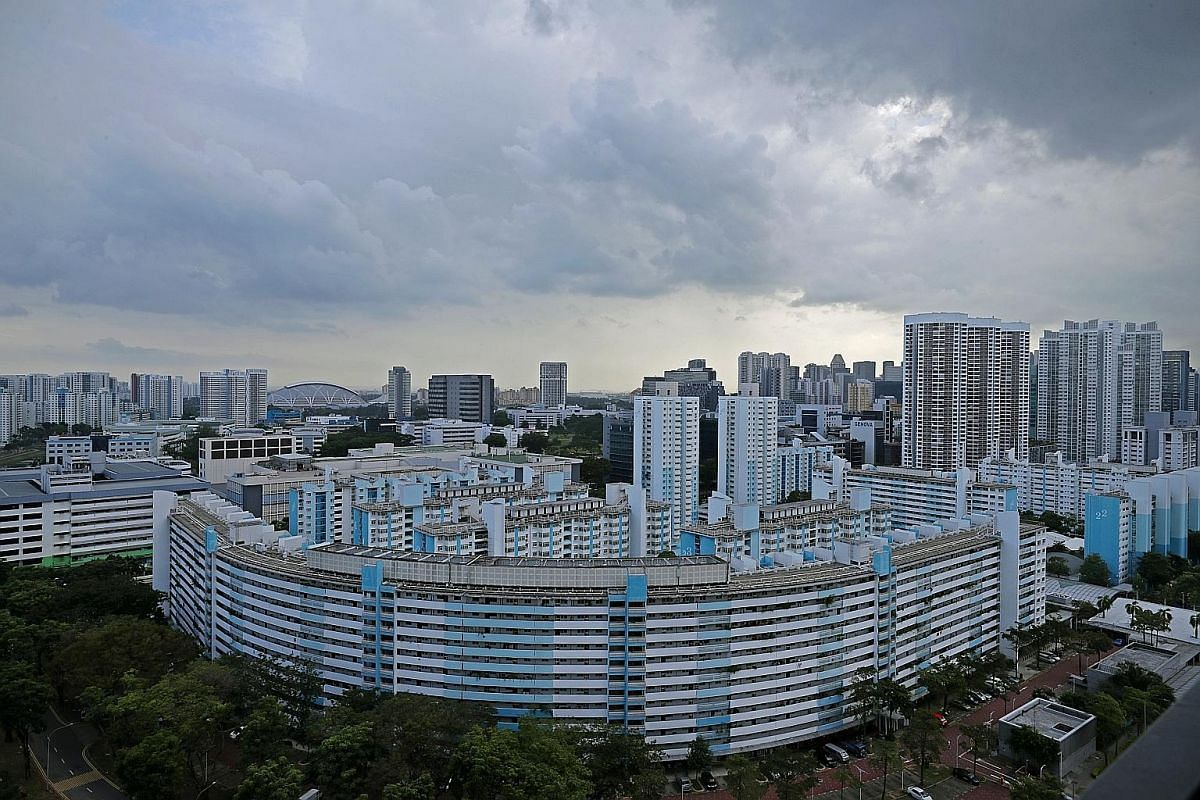1963: When Selegie House was completed, it was the tallest mixed-development building in Singapore comprising both residential units and commercial shops. 1968: The unique Y-shaped Block 53 Toa Payoh Lorong 5, as seen from Gem Residences. The block w