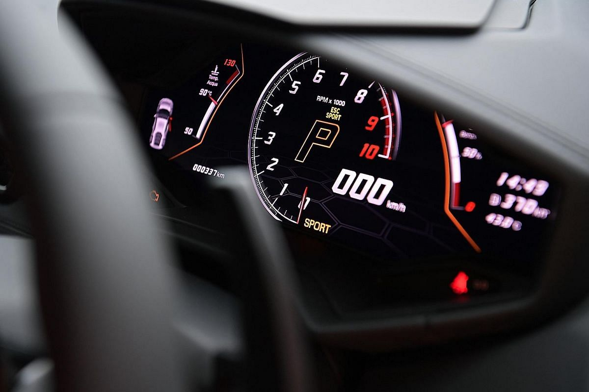 When driving in Sport mode, the car's stability system is pared down and most of its output goes to its rear axle.