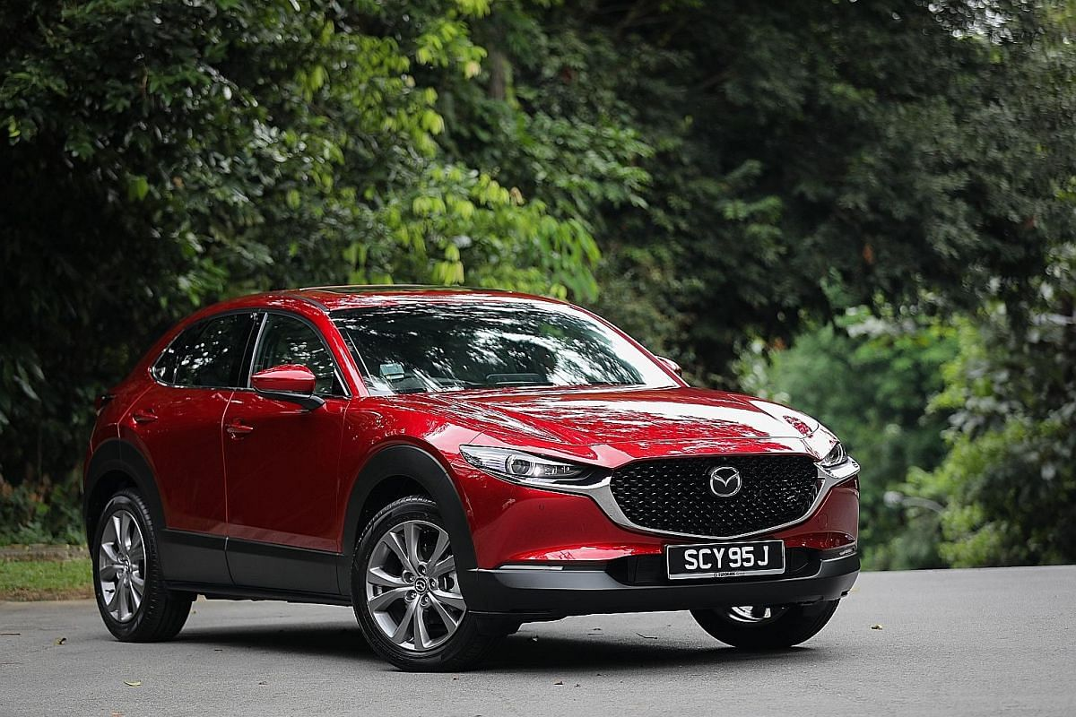 The CX-30 has a modern and stylish appearance combined with a pliant ride.