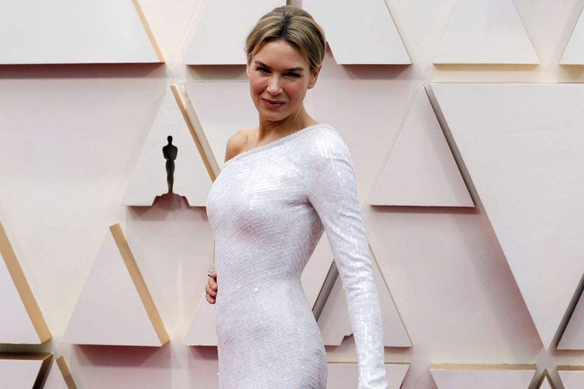 Renee Zellweger at the 92nd Academy Awards ceremony.