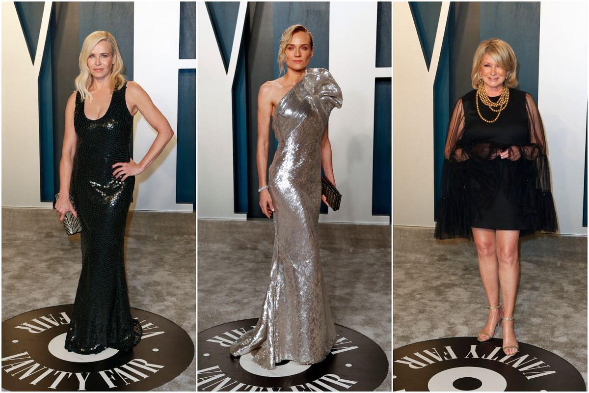 Chelsea Handler, Diane Kruger, Martha Stewart.