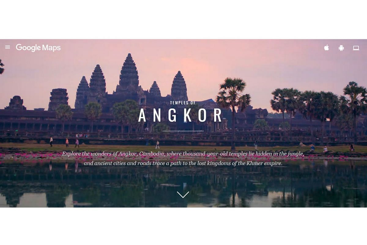 Explore Cambodia's Angkor complex with Google's Street View (above) and get insights into what life could be like with Monash University's Visualising Angkor project.