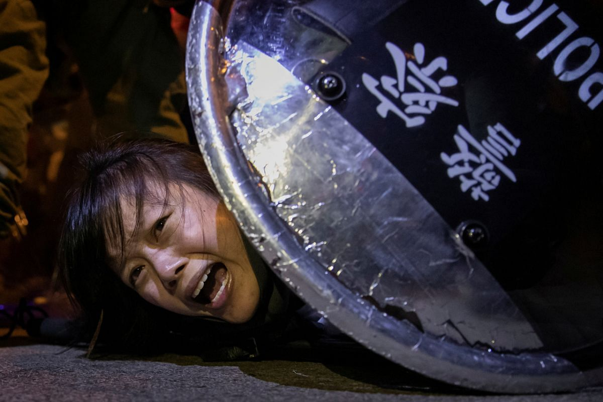 No calm in Hong Kong unless violent protesters are removed: China