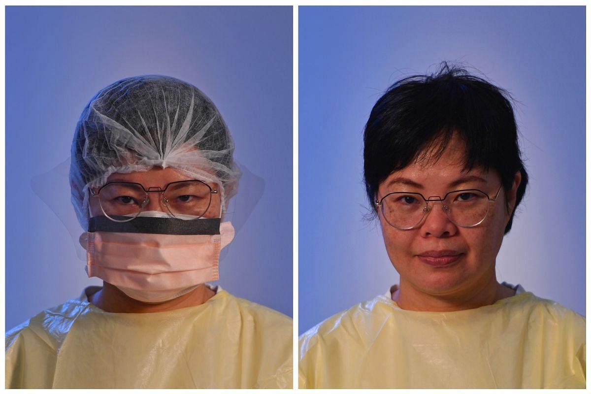 Sim Kah Cheng, 52, Senior Staff Nurse