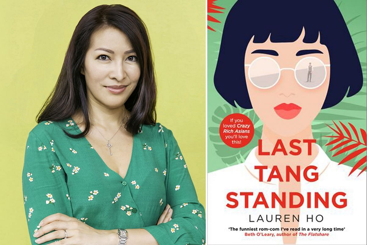 Both the 2018 movie Crazy Rich Asians (right) and the novel it was adapted from were hits, and sparked interest in Asian-led comedies, including author Jenny Lee's (above, left) Anna K (above, right).