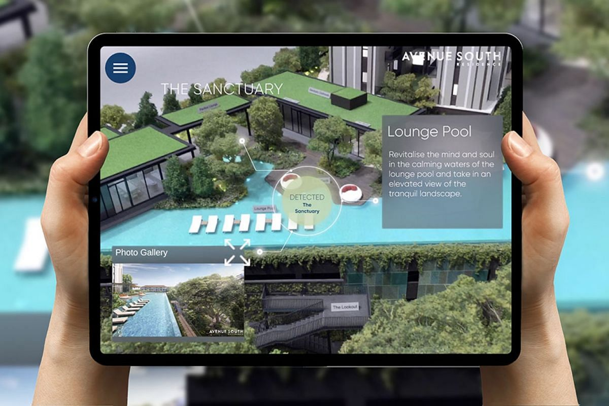 Trinax's AR-powered property technology platform is said to be able to offer interactive virtual showrooms and 3D scale models.