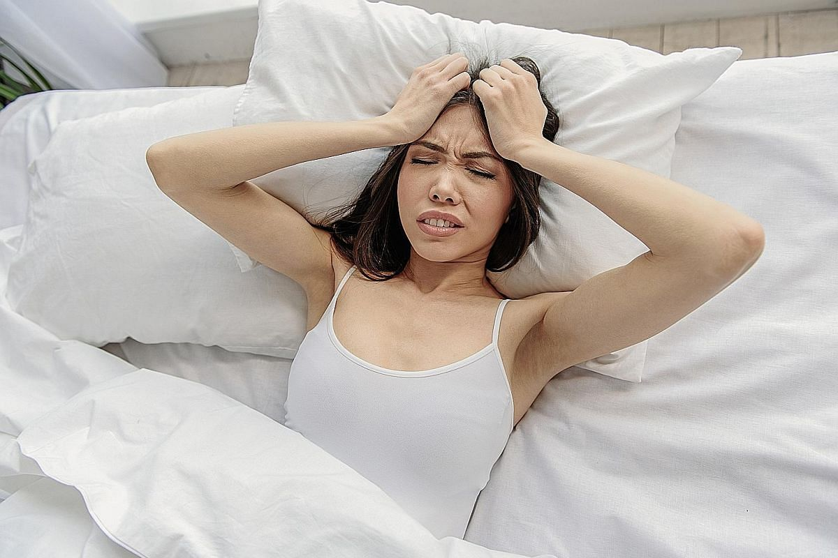 Some people have anxiety and poor sleep due to fears of the pandemic and the frustration of having to stay at home.