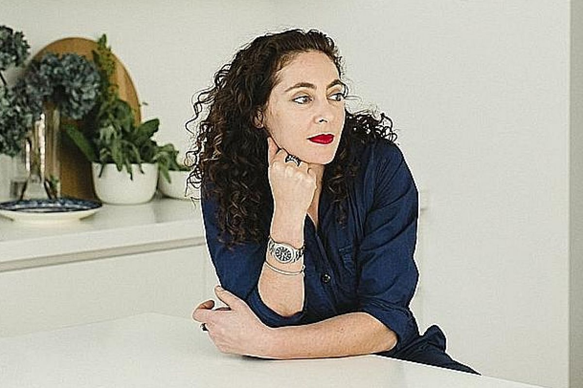 Australian Zahava Elenberg (above) originally designed her ClikClax desktop dividers as a way to help her employees get back to the workplace.