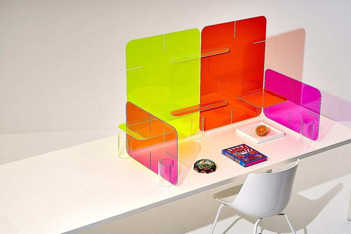 Made in Australia, the ClikClax desktop dividers are meant to create fun partitions for work spaces and are designed to curb the spread of harmful airborne droplets.