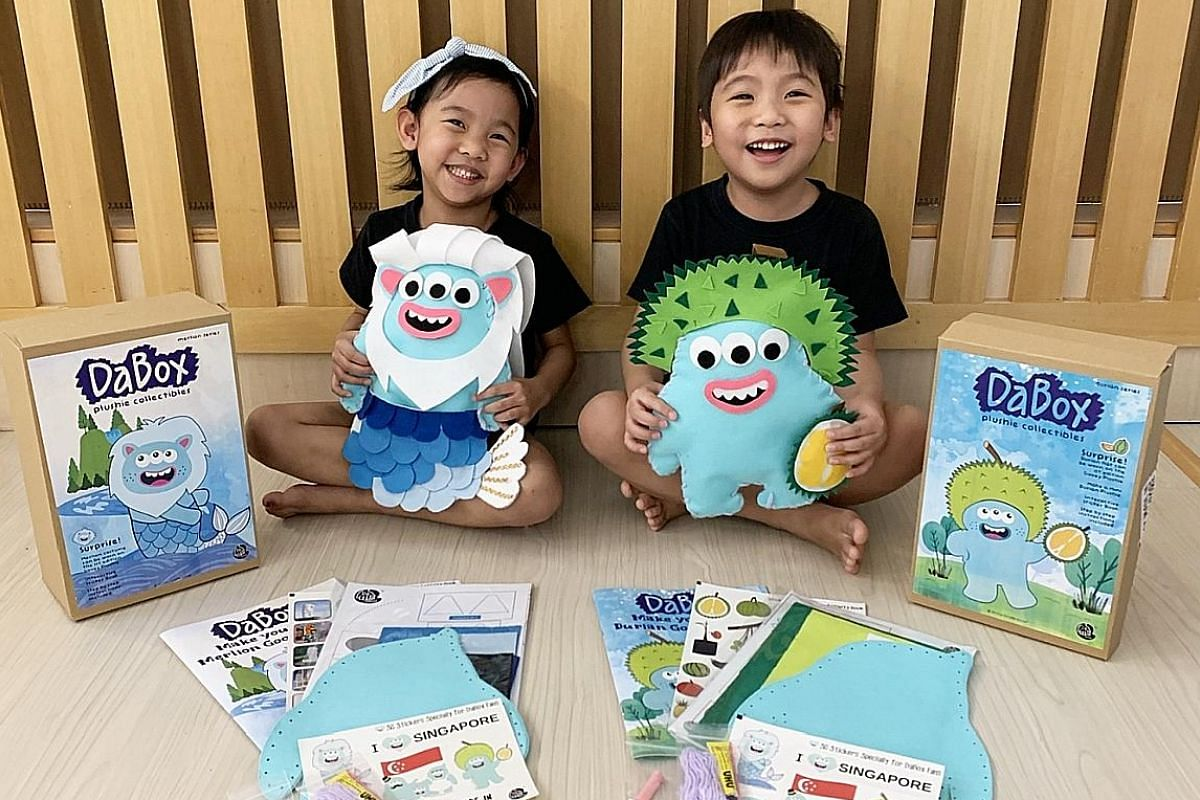 To stay in touch with its students during the circuit breaker, Happy Fish Swim School sent videos so parents could help their children practise drills and breathing techniques. It also offered Facebook live-stream videos on swimming movements to do a