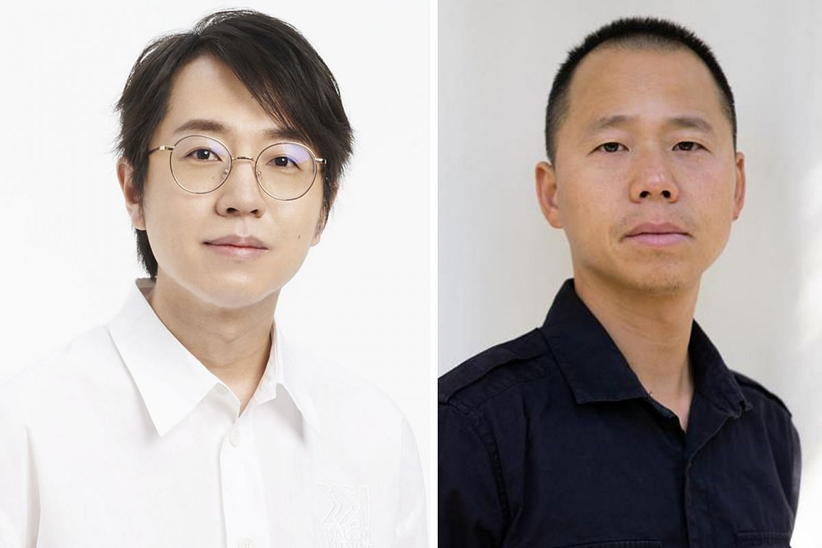 Cheng Teng (left) and Wang Xin (right) are directors of Jiang Ziya: Legend Of Deification.