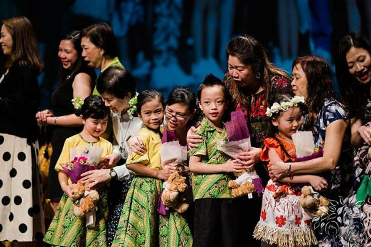 Kinderland's large-scale graduation concert last year before the pandemic. More than 1,000 people attended the show at NUS' University Cultural Centre.