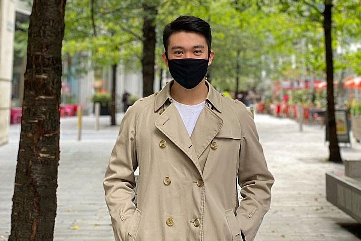 While schools in Britain, such as the University of Bolton (above), have taken steps to promote campus health safety, a Singaporean student in London observes that it is still mainly the Asian students who play it safe by consistently wearing masks.