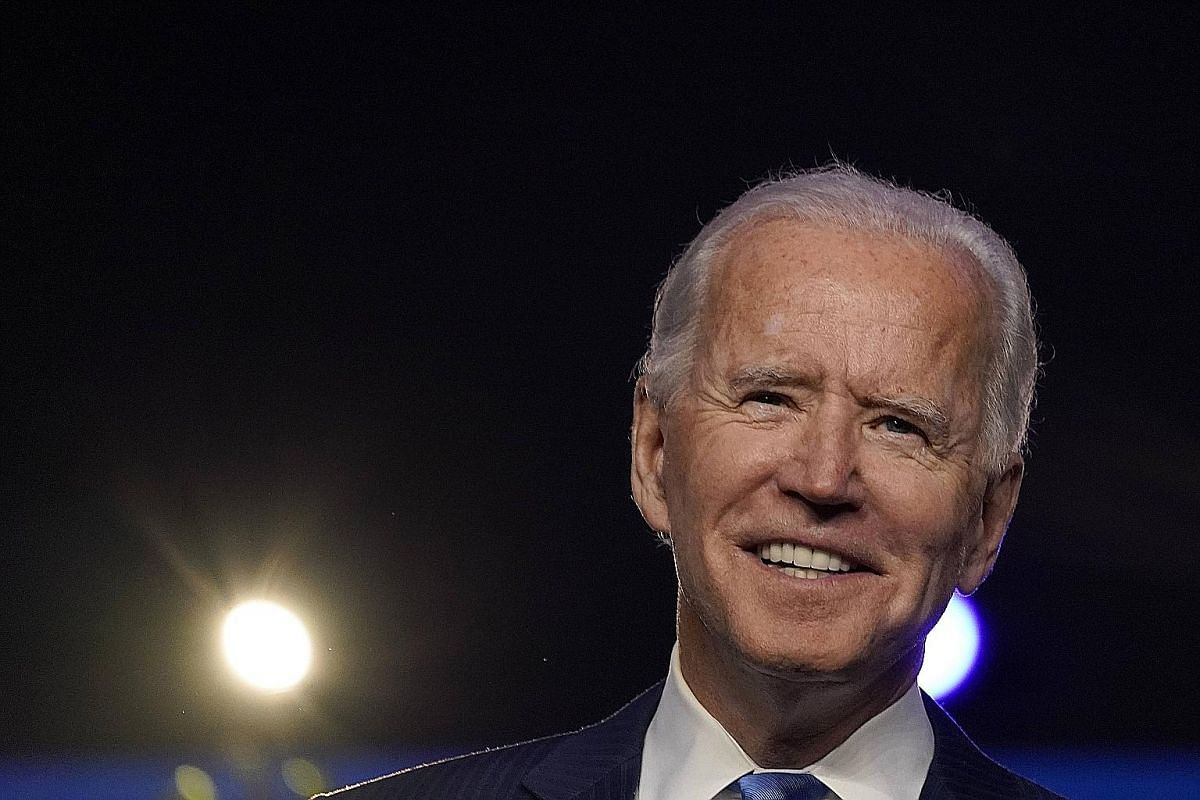 """Mr Joe Biden said yesterday that """"in the face of unprecedented obstacles, a record number of Americans voted. Proving once again, that democracy beats deep in the heart of America""""."""