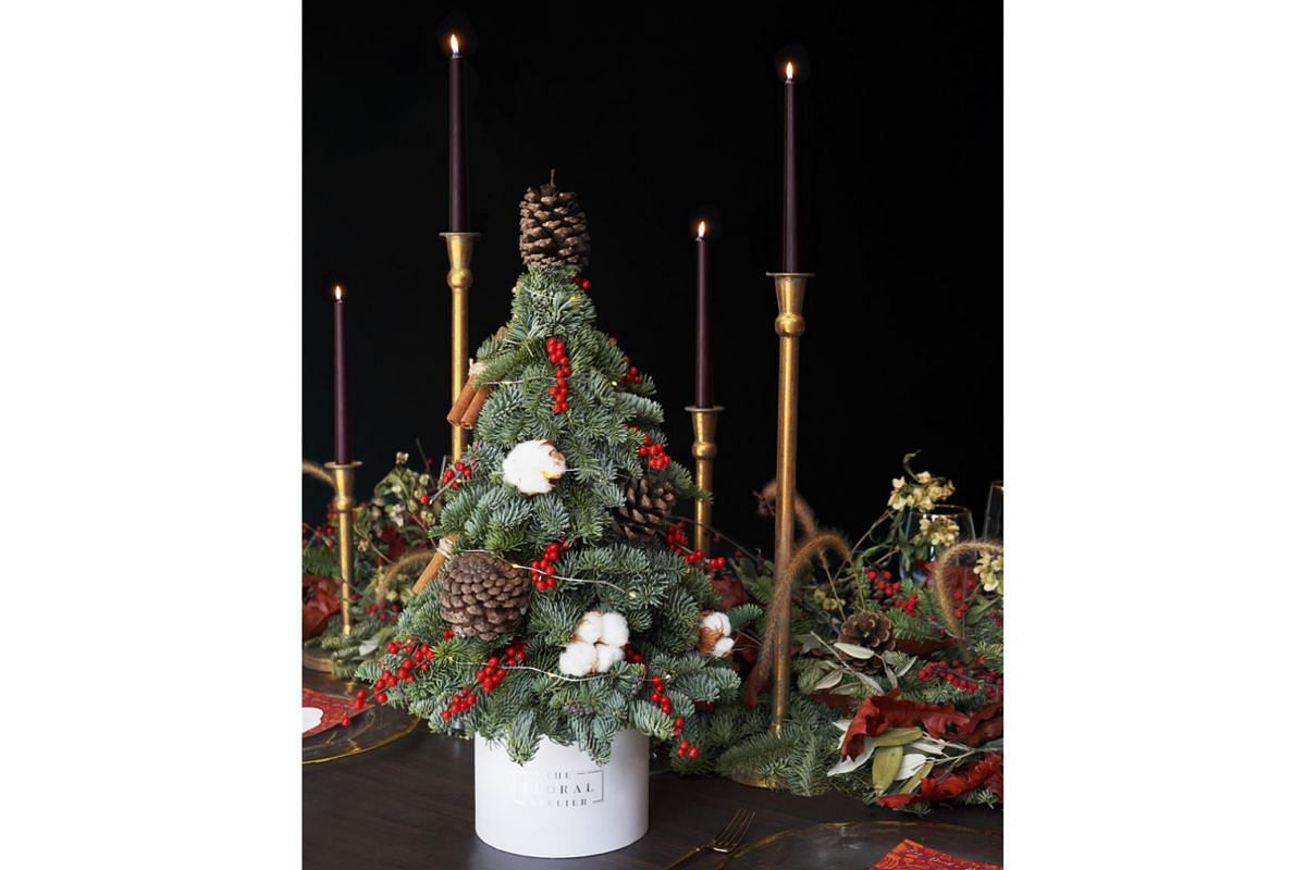 The Atelier & Co's florist arm, The Floral Atelier, will also be retailing fresh flower bouquets and mini Christmas trees.