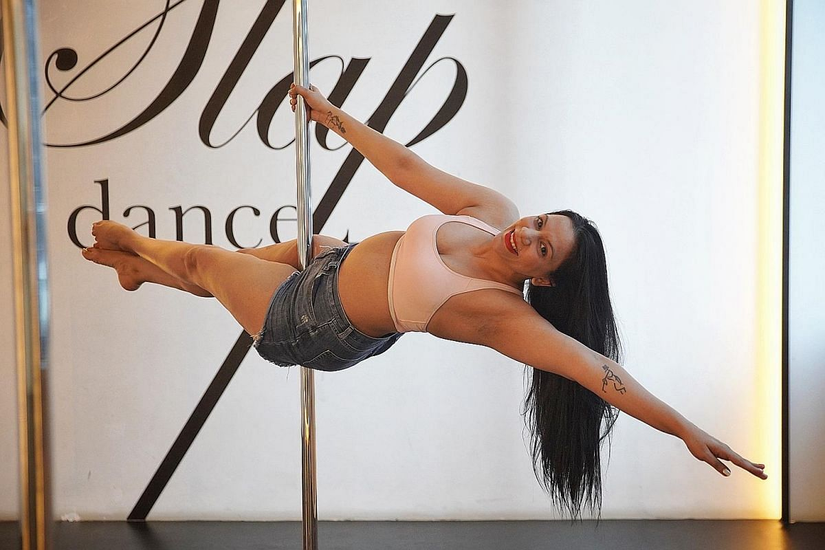 Stand-up comedienne Sharul Channa took up pole-dancing classes this year.