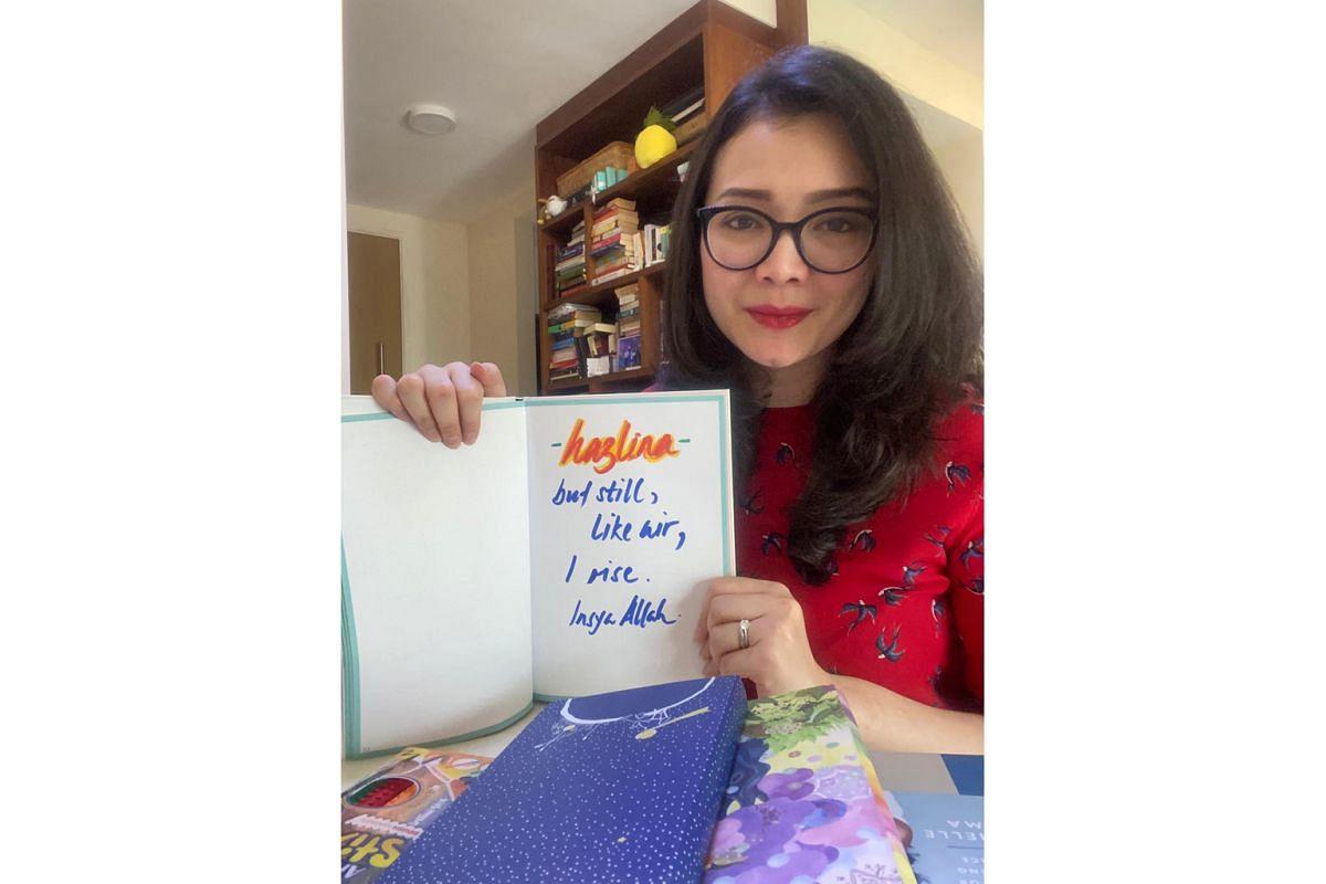 Ms Hazlina Abdul Halim, president of the Singapore Muslim Women's Association, picked up journal writing this year.