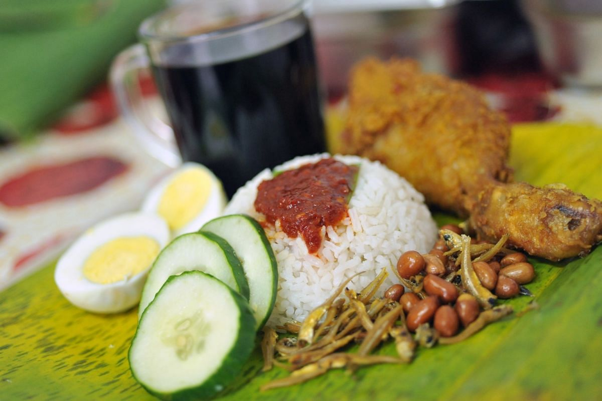 THE BAD: NASI LEMAK: Rice cooked with coconut milk is high in saturated fat. The peanuts and anchovies are deep fried. There is also a lack of greens. Usually when we eat out, the dishes we consume are not in the correct portions to deliver the right