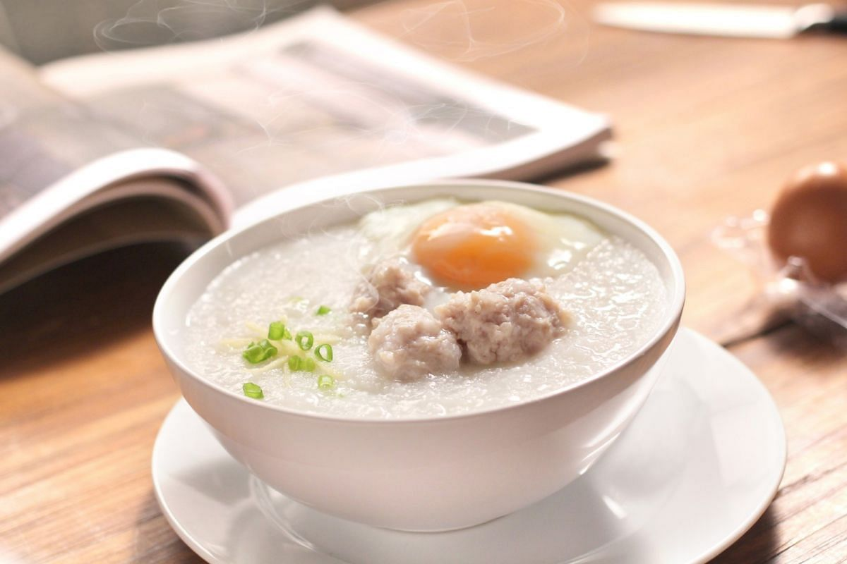 THE GOOD: PORRIDGE/CONGEE: Porridge promotes healthy digestion as it is easy on the stomach. Add chicken or fish for satiety and some mushroom to make the meal wholesome.