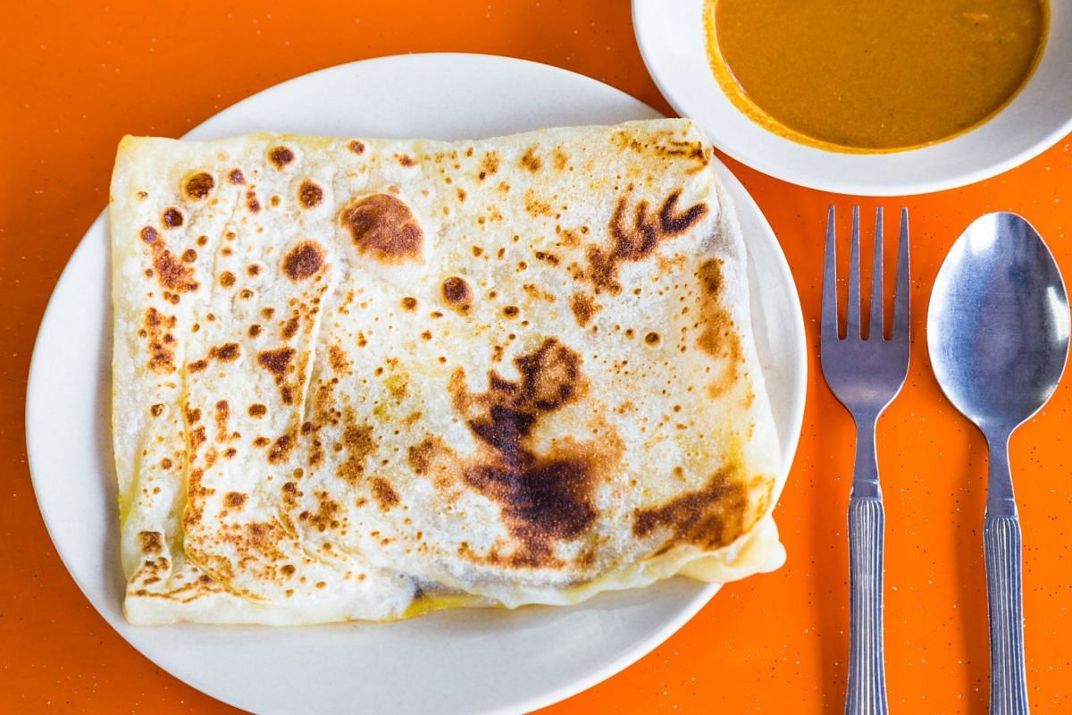 THE BAD: ROTI PRATA AND TEH TARIK: Roti prata is high in refined carbohydrates and fat. Each piece has 272kcal, excluding curry. Teh tarik has two to three tablespoons of sugar - 60 per cent of the recommended sugar intake in a day.