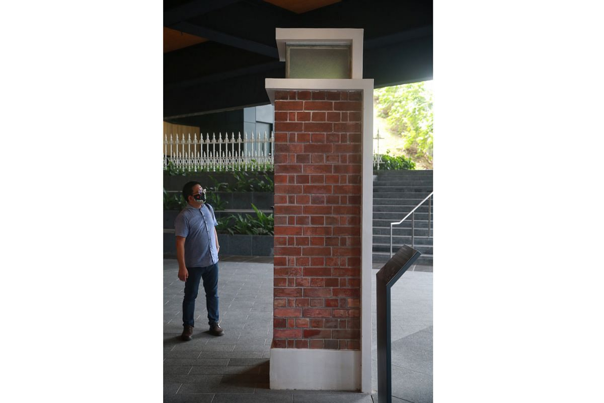Old Library Gate Pillars