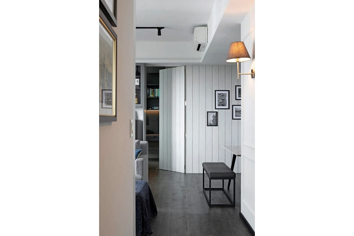 Replace hollow doors with solid-core ones that do not let in vibrations and sound.