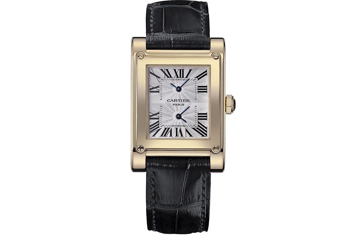 Cartier Tank Watch.
