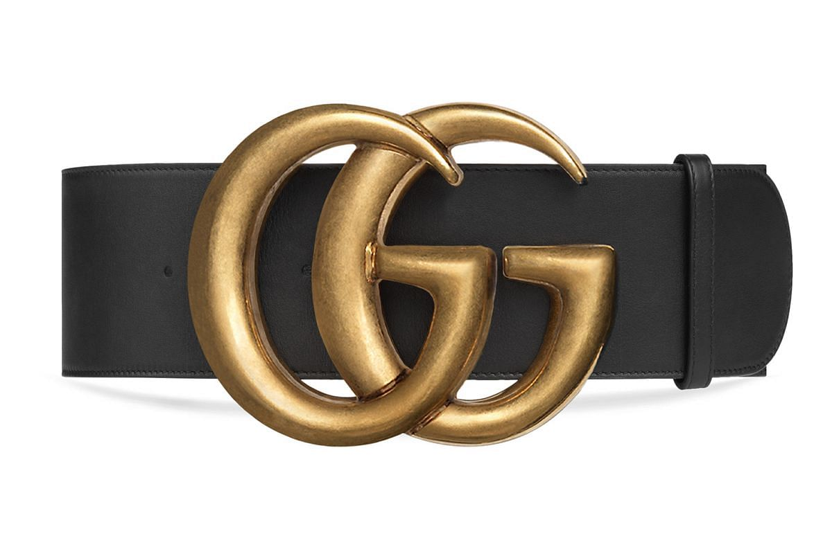 Gucci Double G Belt Buckle.