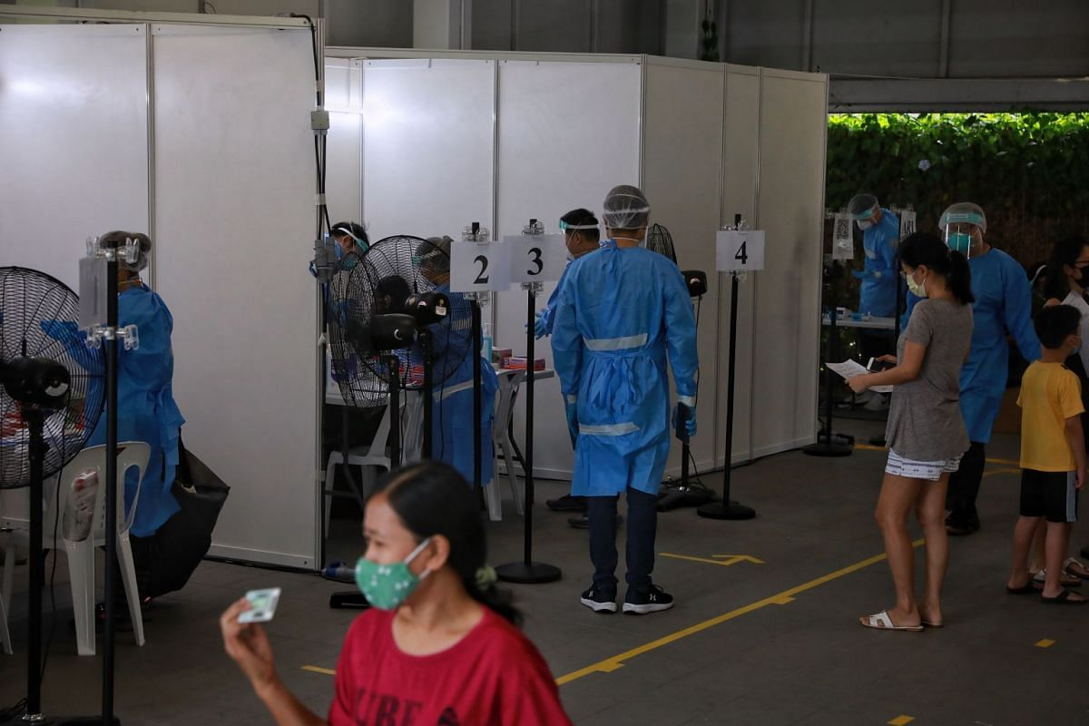 The special testing operation in Puggol that began on Tuesday, June 8, 2021, will continue today and will see 361 residents from 124 households tested.