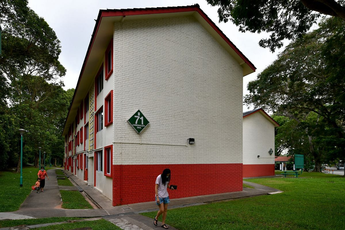 Block 71 Commonwealth Drive is one of the remaining apartment blocks in Queenstown designed by the Singapore Improvement Trust, which is the predecessor of the Housing Board.