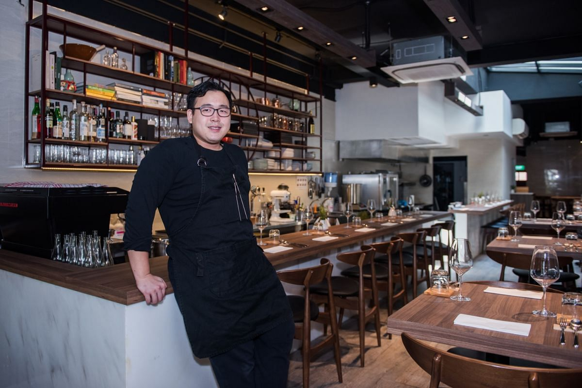 Chef-owner Woo Wai Leong shut his three-year-old Restaurant Ibid a fortnight ago, but hopes to reopen it in August with a new format, with counter seating for just 10 to 12 diners.