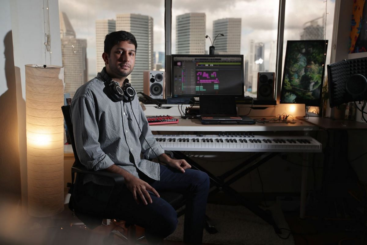 Composer Avik Chari, who is a music librarian at the Singapore Symphony Orchestra, is passionate about designing sound for video games.