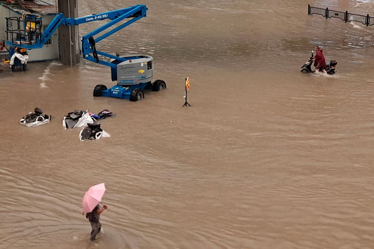 Zhengzhou has been been hardest-hit in the province, and drenched by what weather watchers said was the heaviest rain in 1,000 years.