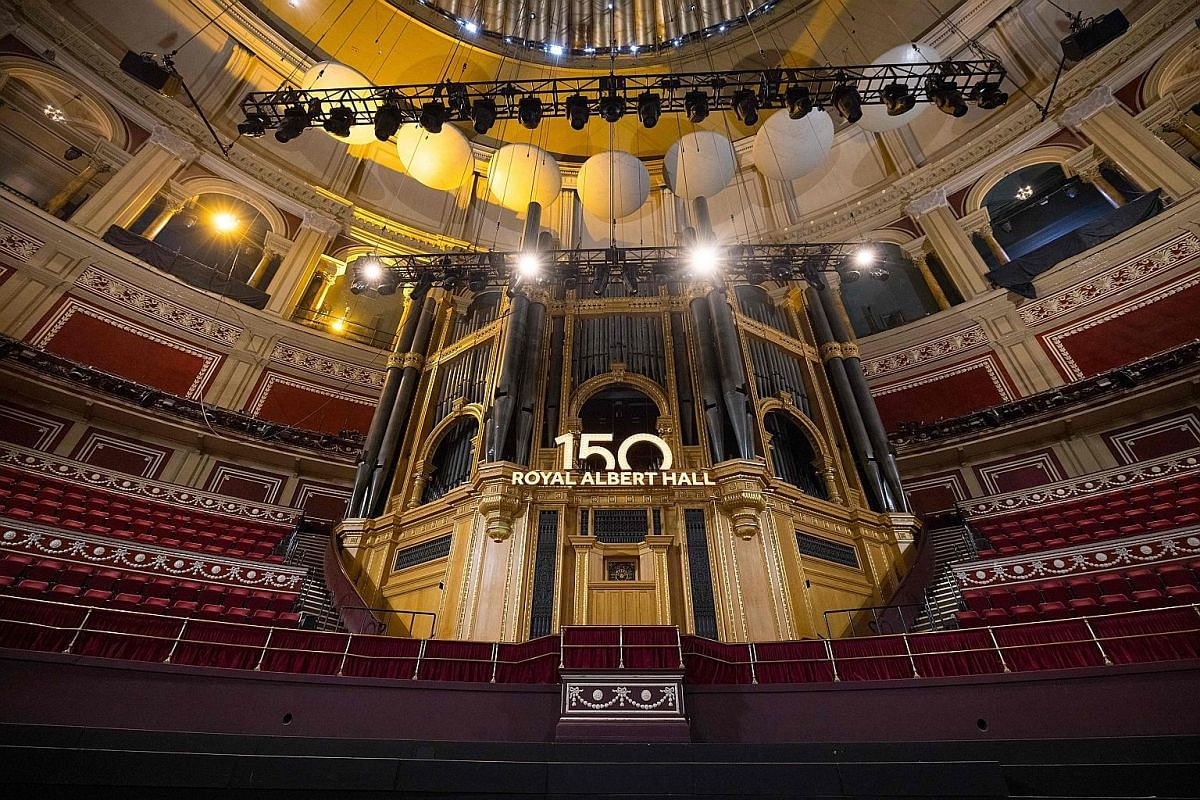 London's iconic Royal Albert Hall (left) celebrated its 150th birthday earlier this week with a concert. About 300 performers were involved in the show titled A Circle Of Sound. Inaugurated in 1871, it has hosted the biggest names in classical, pop a