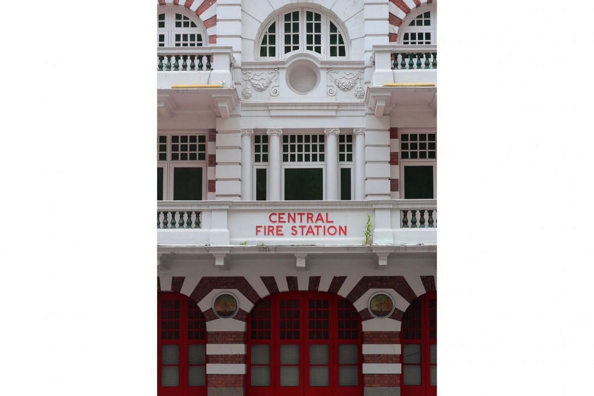 Central Fire Station in Hill Street.
