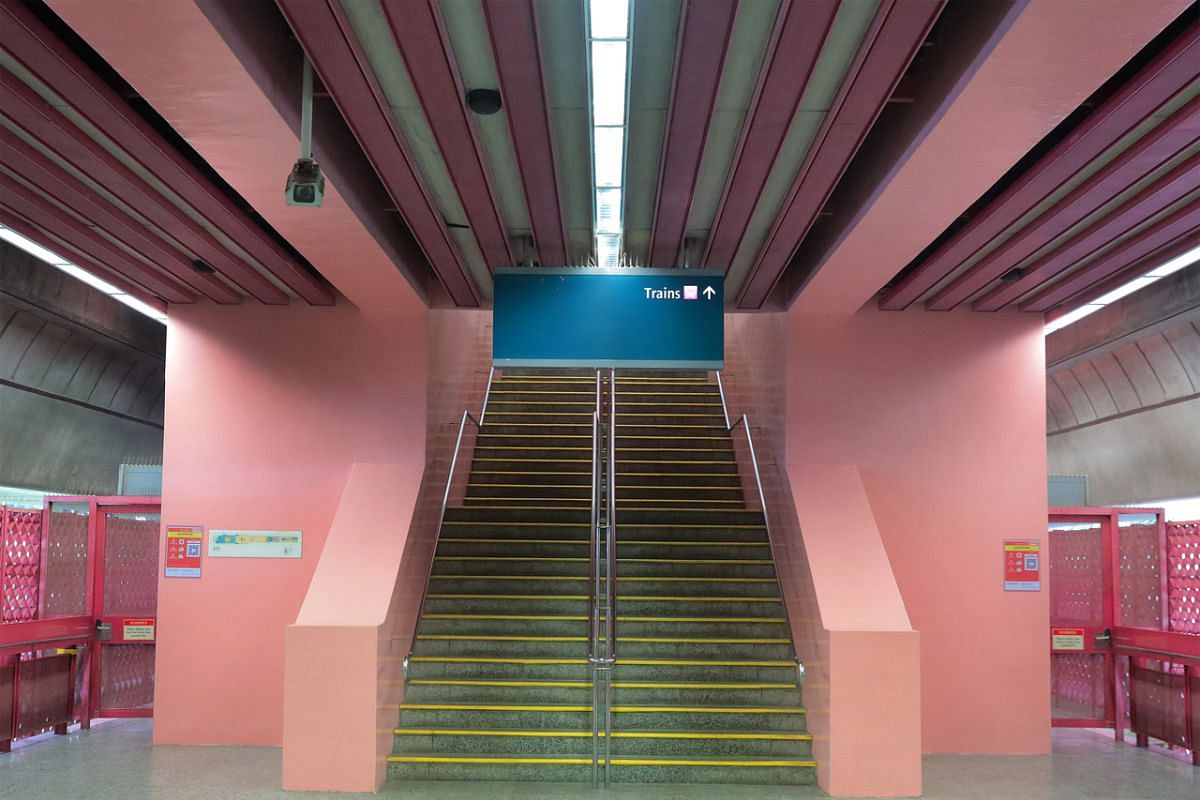 Redhill MRT station.