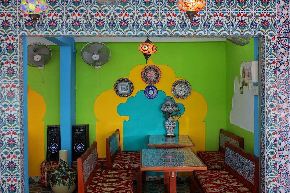 A restaurant in Baghdad Street.
