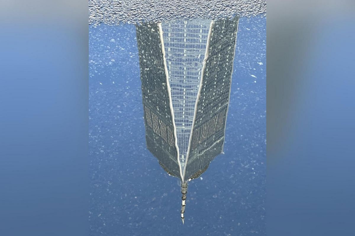 The new One World Trade Center was built on the site of the destroyed Twin Towers.