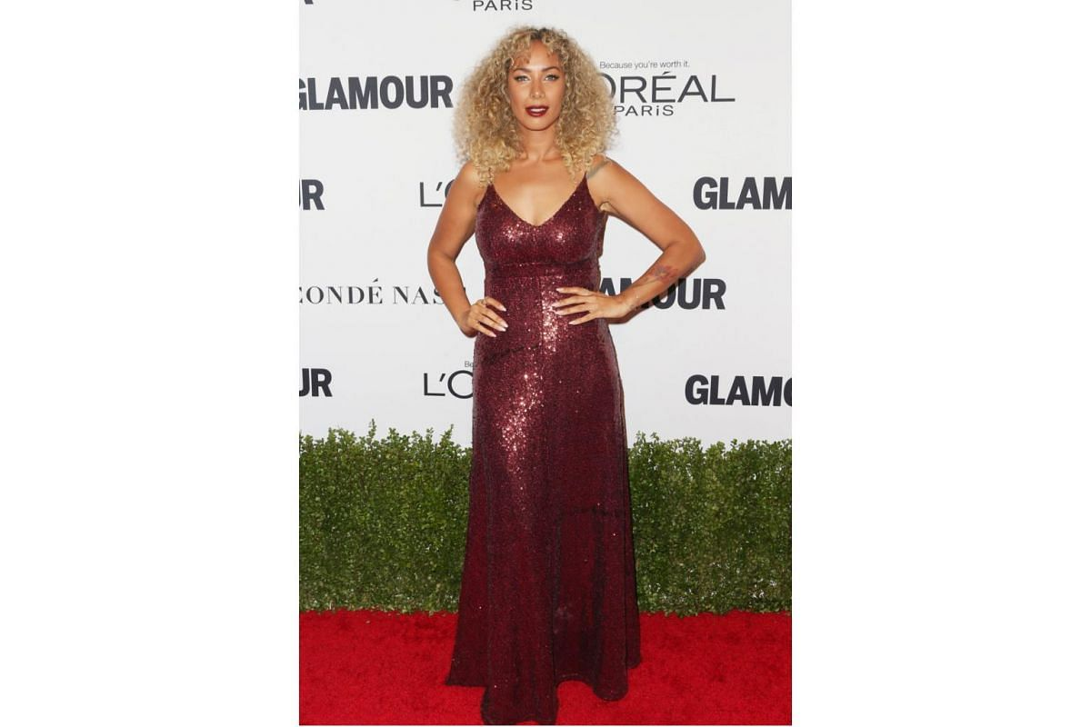Singer Leona Lewis attends Glamour Women Of The Year 2016 at NeueHouse Hollywood on Nov 14, 2016 in Los Angeles, California.