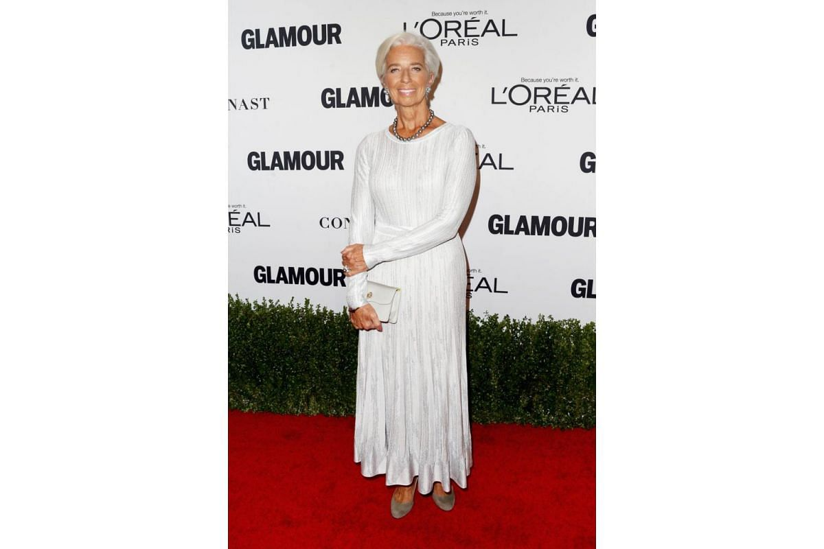 Managing Director of the International Monetary Fund Christine Lagarde attends Glamour Women Of The Year 2016 at NeueHouse Hollywood on Nov 14, 2016 in Los Angeles, California.