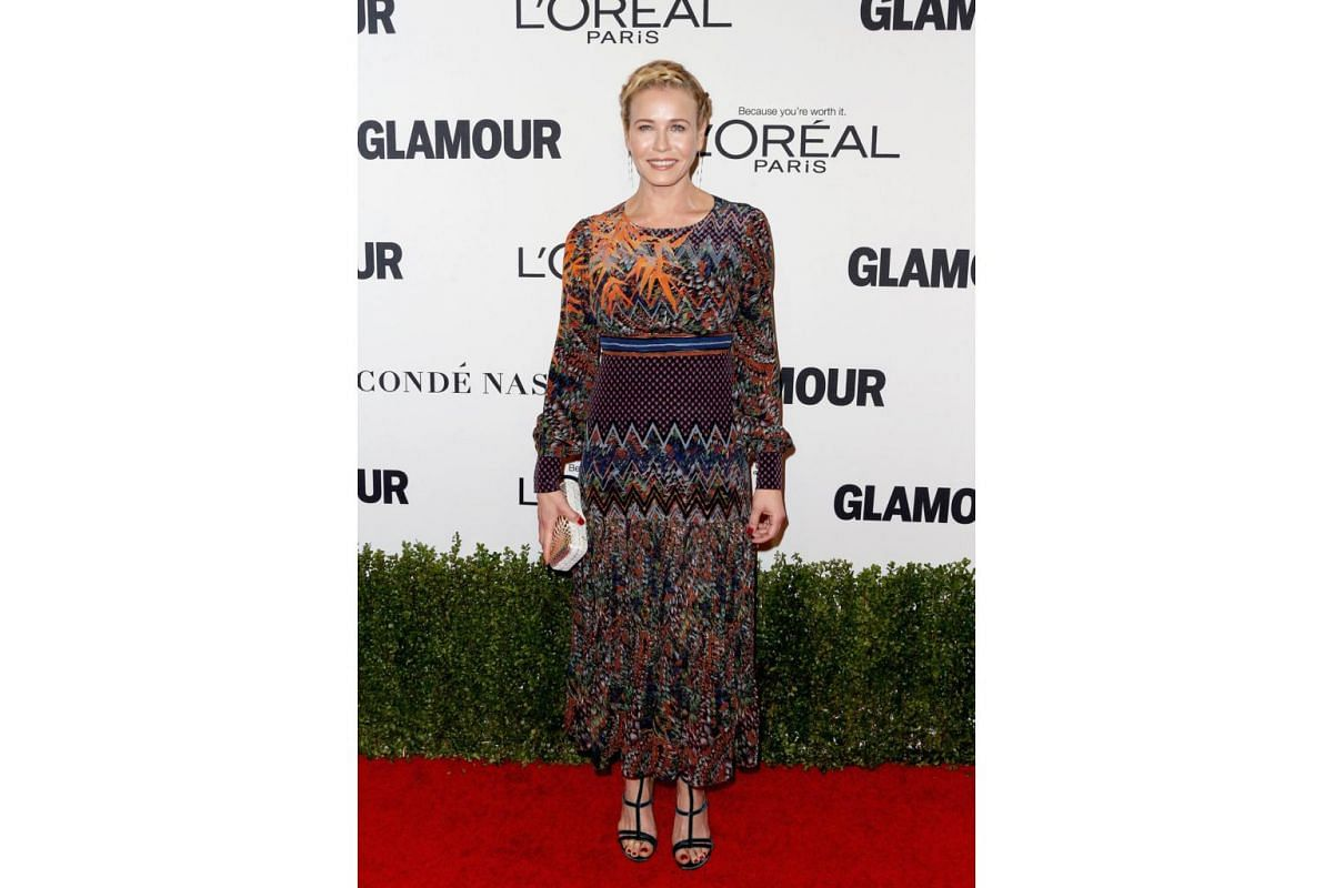 TV personality Chelsea Handler attends Glamour Women Of The Year 2016 at NeueHouse Hollywood on Nov 14, 2016 in Los Angeles, California.