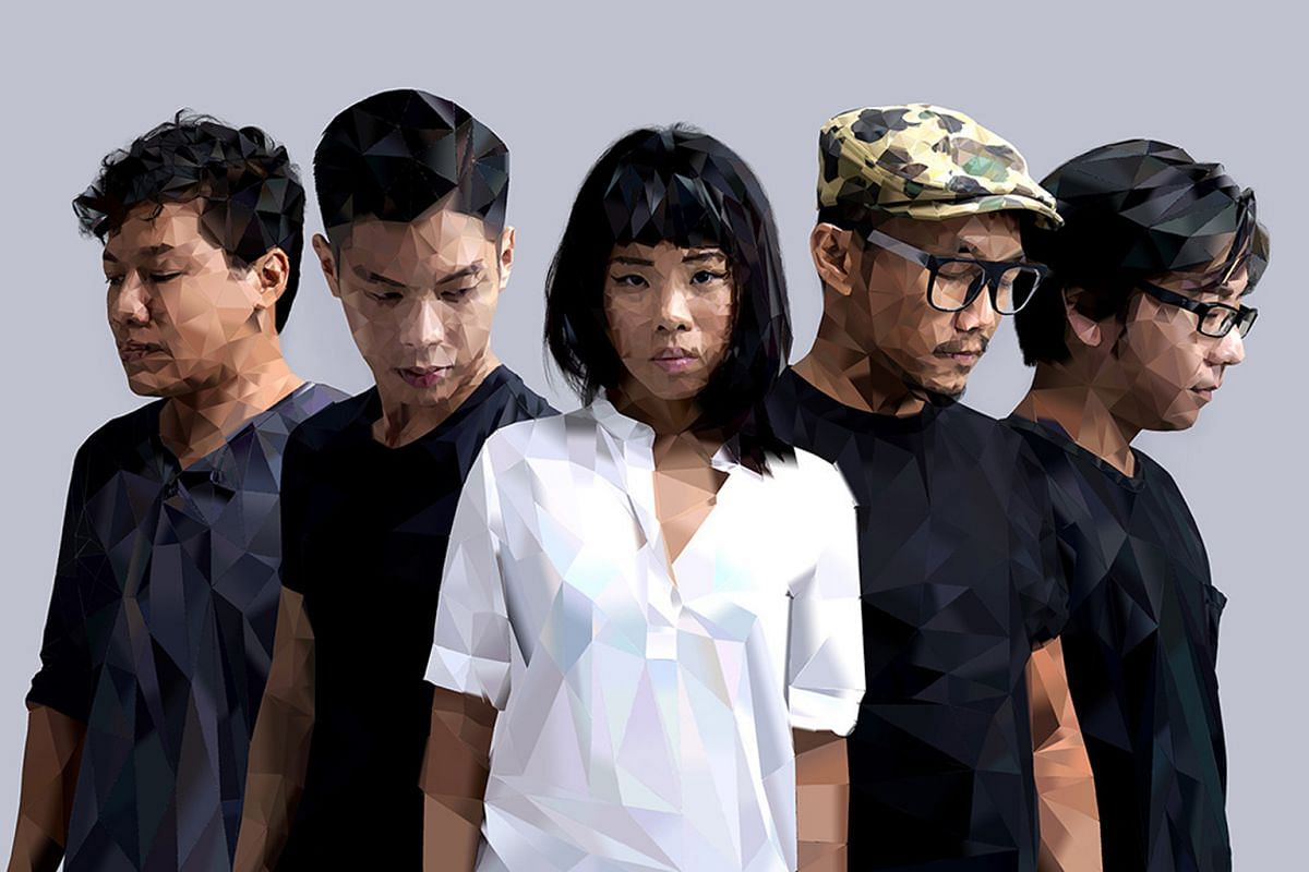 Clockwise from top: Indonesian poet and journalist Goenawan Mohamad and Thai-American writer S.P. Somtow will discuss literature at the festival; the band Riot !n Magenta will work with writer Daren Shiau to create new music.