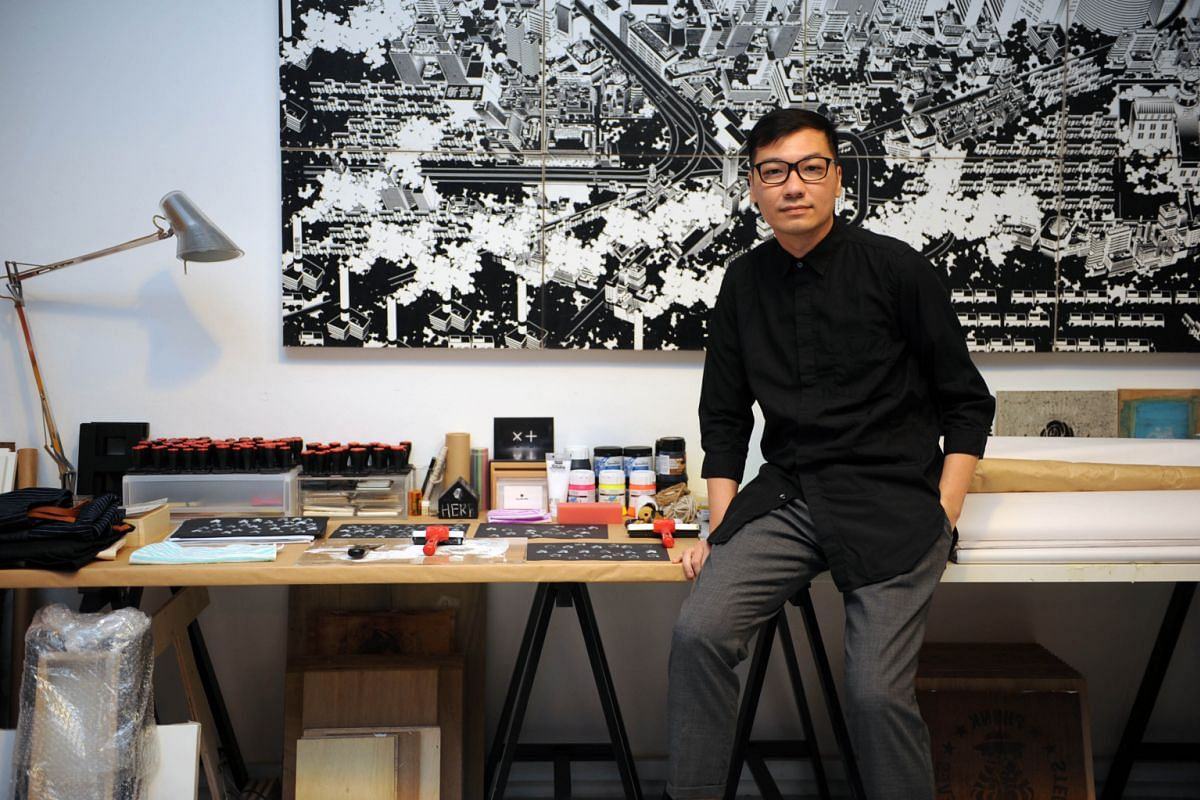 Award-winning designer Jackson Tan had his share of tough times when he had to close his advertising agency Brazen after the Sept 11 attacks and Sars outbreak.