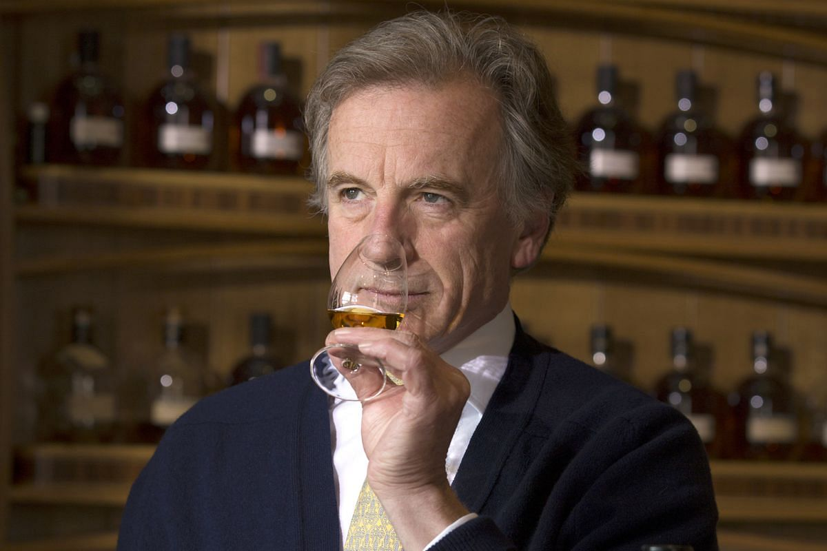The Glenrothes' brand heritage director Ronnie Cox (above).