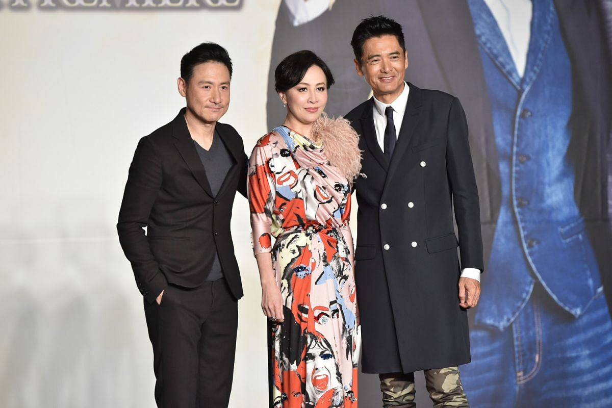Reunion Party For Hk Superstars Entertainment News Top Stories The Straits Times