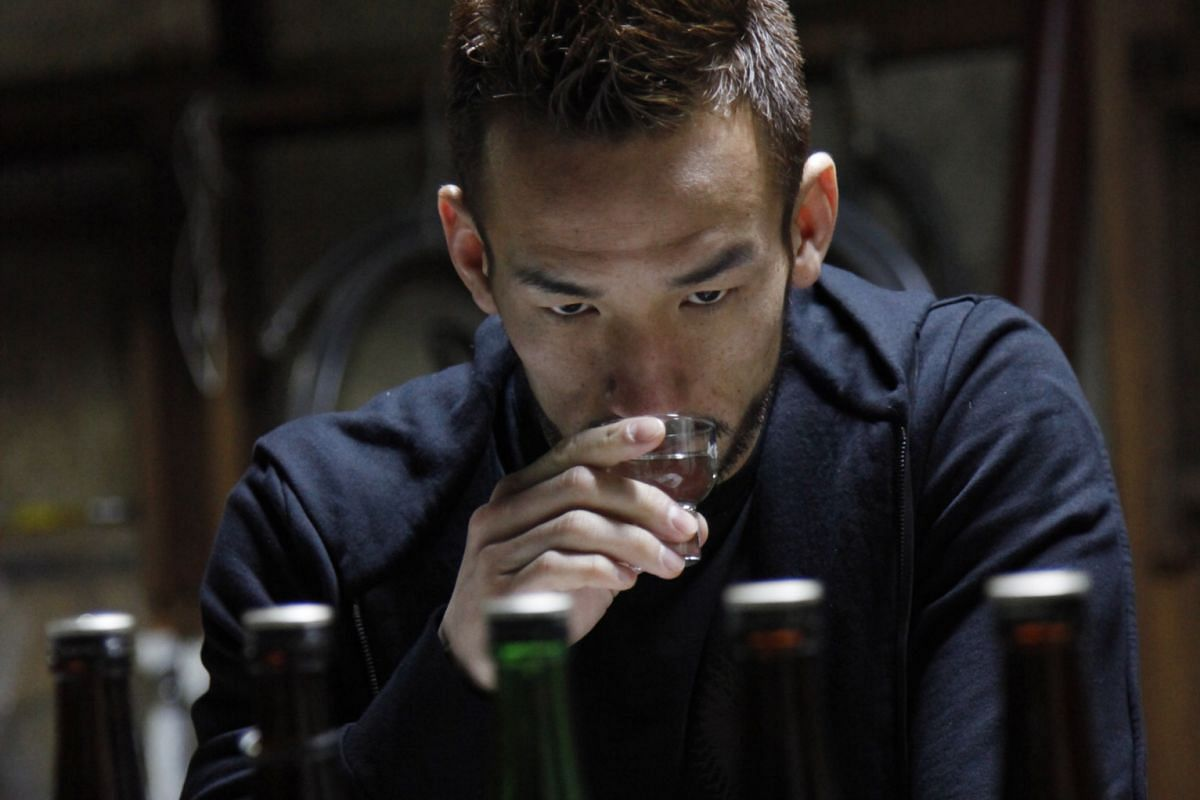 Retired footballer Hidetoshi Nakata developed a passion for sake during his travels.