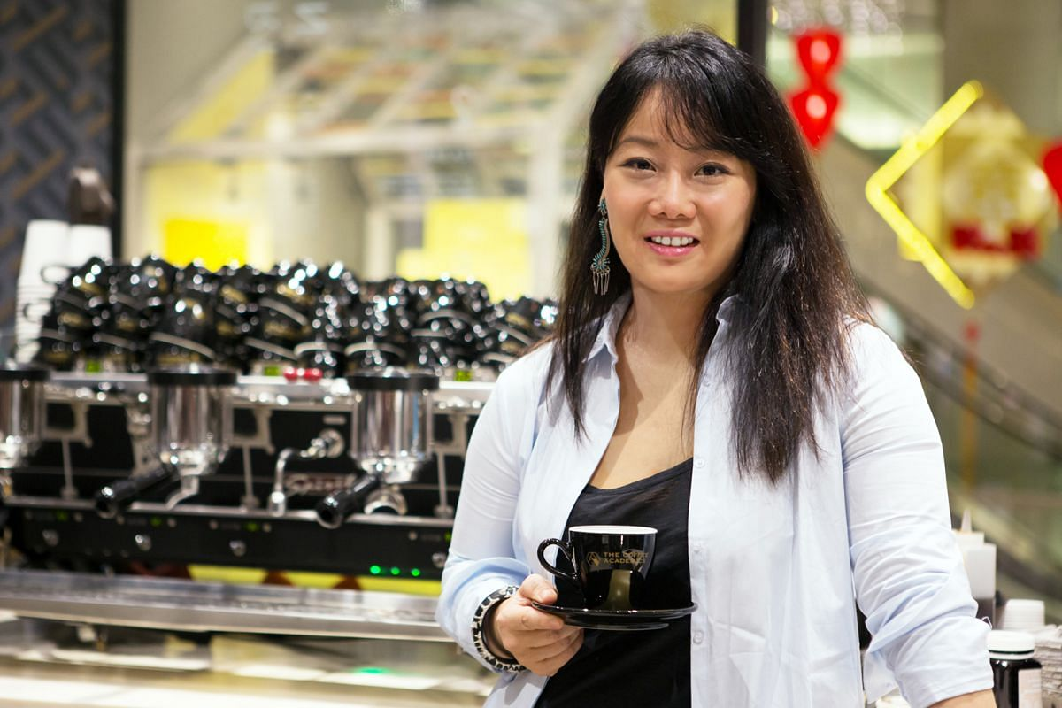 Founder of speciality coffee store The Coffee Academics Jennifer Liu likes laksa and chicken rice.